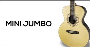 Mini Jumbo Guitar